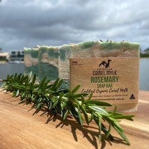 Camel Milk Rosemary Soap Bars - Pack of 4